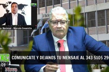 """CASARETTO: """"FRIGERIO ES UN PORTEÑO, CON UN CAMBIO DE DOMICILIO TRUCHO"""""""
