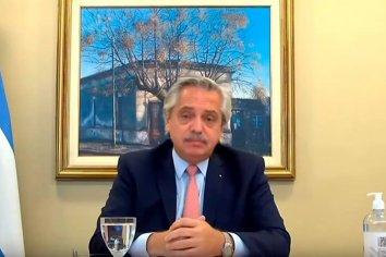 """Fernández: """"Tenemos que garantizar que la armonía del crecimiento alcance a cada argentino"""""""