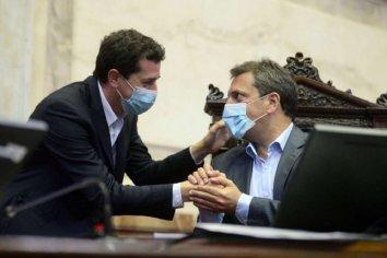 Wado de Pedro y Sergio Massa se reúnen con los presidentes de bloques para avanzar en la postergación de los comicios