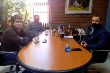 El titular de la ATER repasó con el diputado Huss los avances del régimen de regularización de deudas tributarias