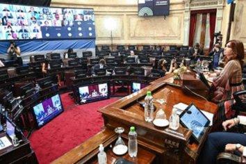 Alberto Fernández envió al Senado el proyecto para regular las restricciones sanitarias