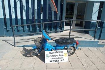 Empleada domestica se llevó la moto de su empleadora sin autorización