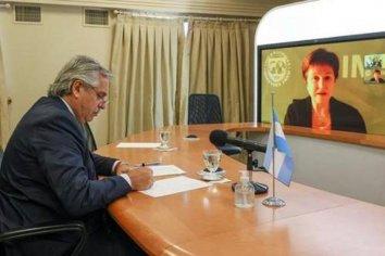 Alberto Fernández se reunirá con Kristalina Georgieva en Roma