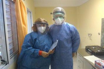 Centros de salud de Paraná y Colonia Avellaneda comenzaron a realizar hisopados