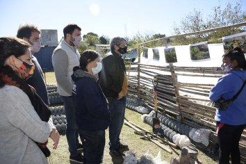 Provincia fortalece huertas socio-comunitarias para la producción de alimentos en Paraná