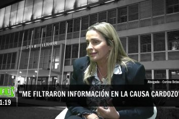 """Beisel: """"Está sobreestimado el poder de gestión del Ministerio Público Fiscal""""."""