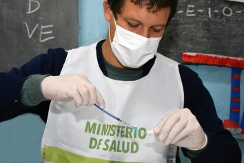 Desde este sábado, en la Escuela Hogar, también se realizarán operativos de vacunación Covid