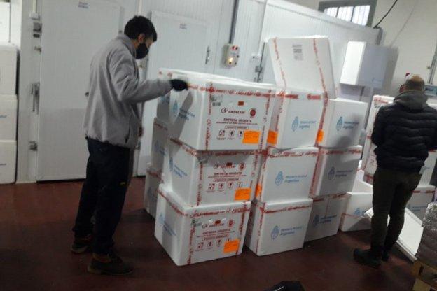 Llegaron 32.700 dosis de vacunas Covid-19 a Entre Ríos