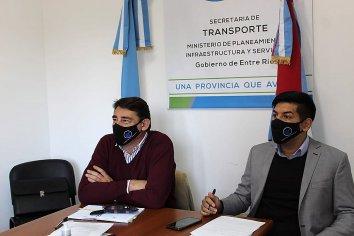 Entre Ríos gestiona infraestructura para transporte ante la Nación