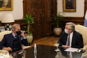 Fernández recibió a la DAIA y planteó que el voto en la ONU está en sintonía con el Informe Bachelet