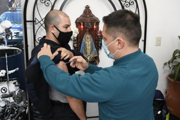 Comenzó la vacunación a Fuerzas de Seguridad Federales que prestan servicio en Entre Ríos
