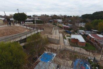 La Municipalidad finaliza una importante obra integral en barrio Las Flores