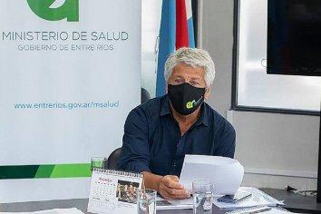 """""""La meseta de casos aún es alta y el sistema sanitario está constantemente amenazado"""" aseguró Elías"""