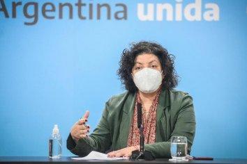 La ministra Carla Vizzotti anunció la extensión del DNU con restricciones hasta el 25 de junio