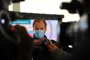 """Bordet: """"Estamos avanzando fuertemente en la campaña de vacunación"""""""