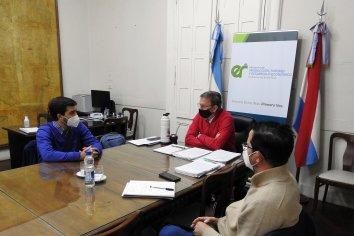 La provincia trabaja con el municipio de La Paz para la puesta en valor de la Estación de Piscicultura