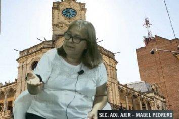 """""""Desde julio no pagaran más el aporte solidario los estatales"""", expresó Mabel Pedrero"""