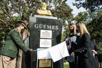 Conmemoraron el 200º aniversario de la muerte del General Martín Miguel de Güemes