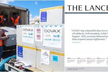 """The Lancet contra los países ricos: """"COVAX fue una idea hermosa pero no se concretó"""""""
