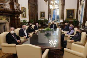 Alberto Fernández se reunió con el Llamamiento Argentino Judío