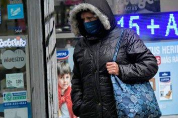 El frío polar se hace sentir en Paraná