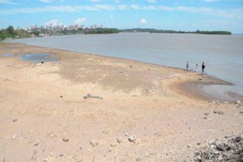 Nación declarará la emergencia hídrica por la bajante del Paraná