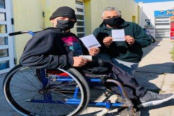 Vacunaron contra el Covid 19 a personas en situación de calle de Paraná