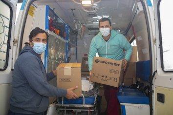 Continúa la inversión en equipamiento para tratar pacientes Covid