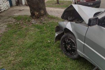 Salió a probar el auto sin saber manejar y estando alcoholizada