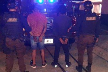 Dos detenidos por resistencia a la autoridad