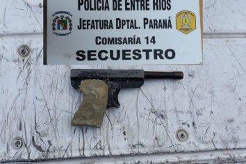 Secuestraron un arma involucrada en un hecho delictivo
