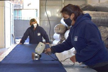 Continúa la venta de frazadas confeccionadas por cooperativas textiles entrerrianas