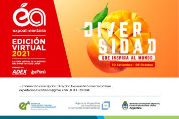 Convocatoria provincial para participar de Expo Alimentaria Perú 2021