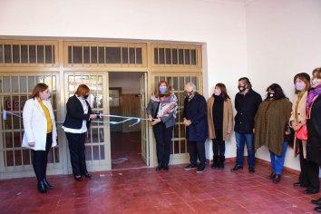 Inauguran la restauración de los talleres del complejo Eva Perón