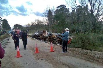 Un camionero perdió la vida en un accidente donde está involucrada una camioneta del ex senador Alasino