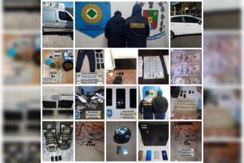 Varios detenidos y elementos incautados en más de 20 procedimientos que incluyeron allanamientos en la cárcel de Paraná