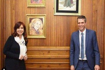 El precandidato Enrique Cresto se reunió con la vicepresidenta Cristina Kirchner