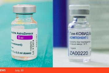 Un estudio confirma la eficacia de combinar vacunas AstraZeneca y Sputnik V contra el coronavirus