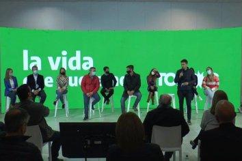 Los candidatos del Frente de Todos presentaron sus propuestas
