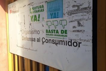 Paraná: Personal de Defensa del Consumidor hará una jornada de lucha frente al Municipio