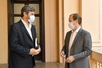Bordet y Giano analizaron la situación provincial y repasaron la agenda legislativa