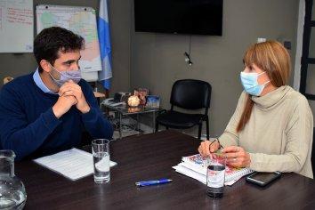 Sonia Velázquez y Tomás Ledesma dialogaron sobre políticas públicas de impacto sanitario para comunas entrerrianas