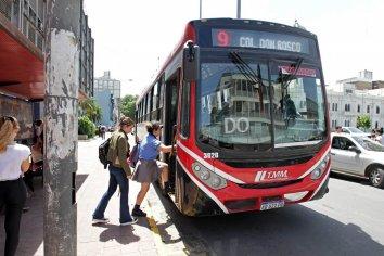 Así será el funcionamiento del transporte urbano durante el fin de semana largo