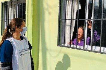 Comenzó una nueva etapa de rastrillajes sanitarios por los barrios