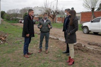 Equipos de Planeamiento acuerdan una agenda de obras con las autoridades de Diamante