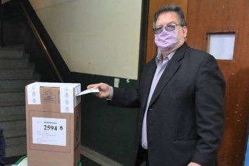 """Esperamos tener un buen porcentaje de votantes"" Francolini"