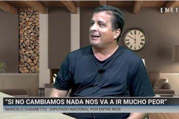 """Casaretto: """"Si no cambiamos nada, el peronismo puede sacar todavía menos votos""""."""