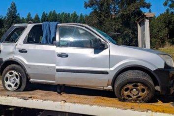 Una mujer falleció tras despistar y volcar en la Autovía Artigas