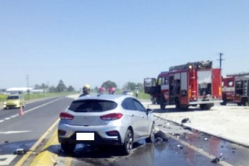 Accidente de transito dejó personas lesionadas y grandes daños materiales