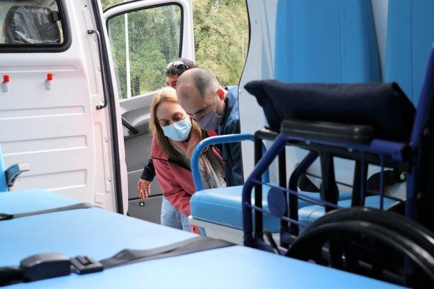 Entregaron una ambulancia al hospital Escuela de Salud Mental de Paraná
